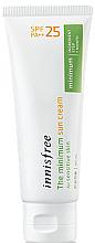Духи, Парфюмерия, косметика Солнцезащитный крем для чувствительной кожи - Innisfree The Minimum Sun Cream SPF25 PA++