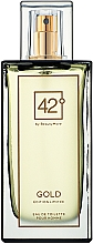Парфумерія, косметика 42° by Beauty More Gold Edition Limitee pour Homme - Туалетна вода
