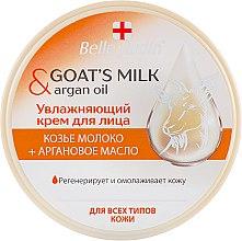 """Духи, Парфюмерия, косметика Увлажняющий крем """"Козье молоко и аргановое масло"""" - Belle Jardin Cream Goat's Milk & Argan Oil"""