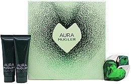 Духи, Парфюмерия, косметика Mugler Aura Mugler - Набор (edp/30ml + b/lot/50ml + sh/gel/50ml)