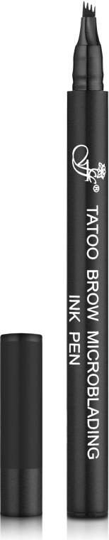 Маркер для бровей с эффектом микроблейдинга - FFleur Tatoo Brow Microblading Ink Pen