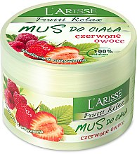 "Духи, Парфюмерия, косметика Скраб для тела ""Красные ягоды"" - Ava Laboratorium L'Arisse Frutti Relax Body Scrub Red Fruits"
