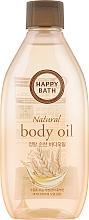 Духи, Парфюмерия, косметика Питательное масло для тела - Happy Bath Natural Body Oil Real Mild