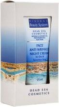 Ночной крем для лица от морщин для сухой и чувствительной кожи - Mineral Beauty System Face Anti Wrinkle Night cream — фото N3
