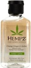 Духи, Парфюмерия, косметика Увлажняющий растительный санитайзер для рук - Hempz Moisturizing Herbal Hand Sanitizer