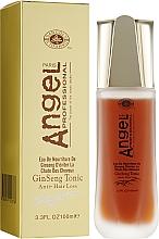 Духи, Парфюмерия, косметика Тоник от выпадения волос с экстрактом женьшеня - Angel Professional Paris With Ginseng Extract Tonic