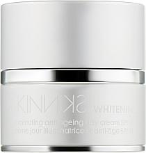 Духи, Парфюмерия, косметика Отбеливающий антивозрастной дневной крем - Mades Cosmetics Skinniks Whitening Illuminating Anti-ageing Day Cream