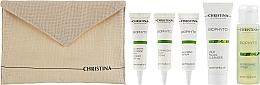 Духи, Парфюмерия, косметика Набор - Christina Bio Phyto Travel Kit (cr/2x15ml + serum/15ml + gel/50ml + toner/40ml)