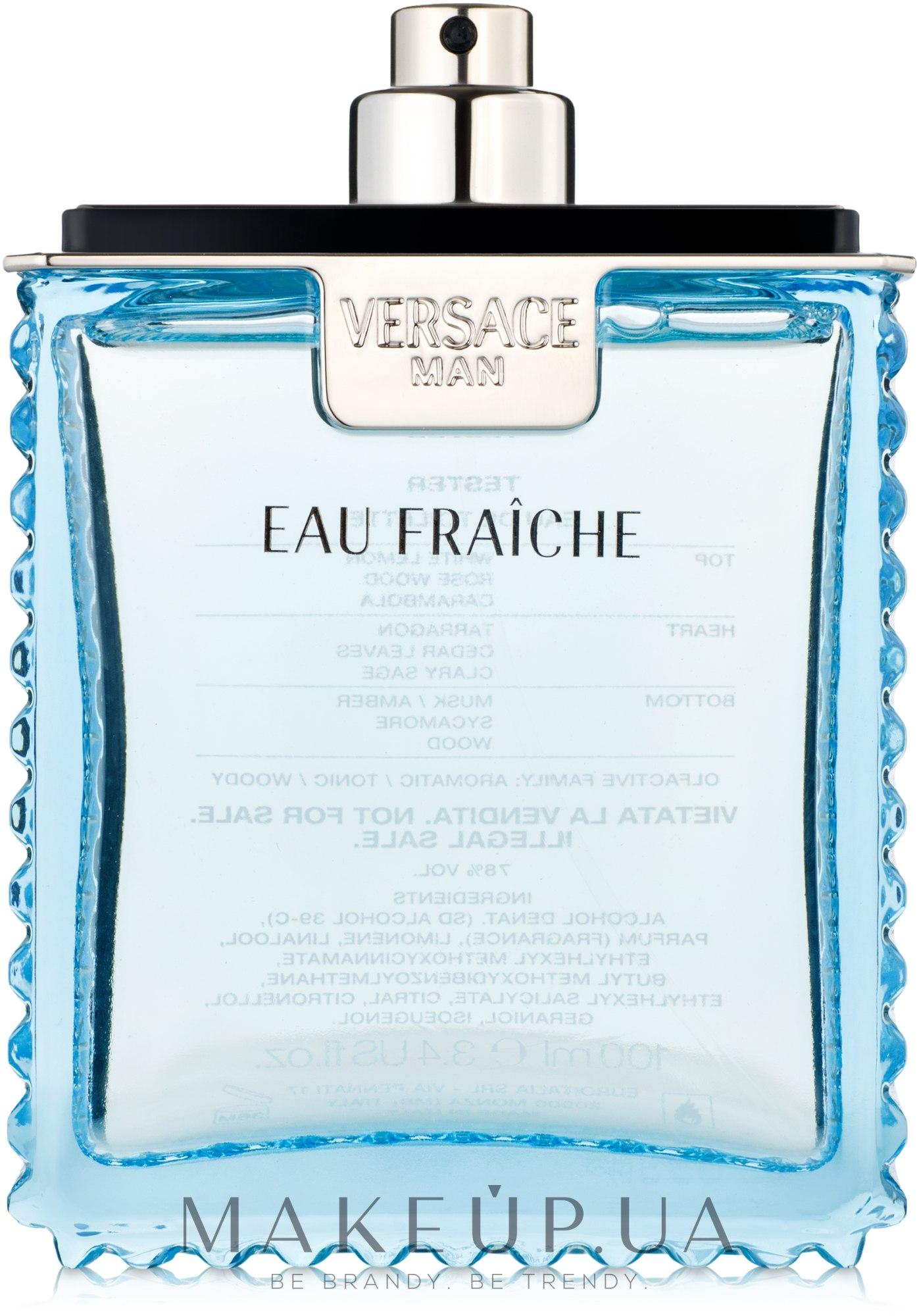 545ca199e87c MAKEUP | Отзывы о Versace Man Eau Fraiche - Туалетная вода (тестер без  крышечки)