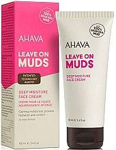 Духи, Парфюмерия, косметика Успокаивающий крем для лица - Ahava Leave on Muds Deep Moisture Face Cream