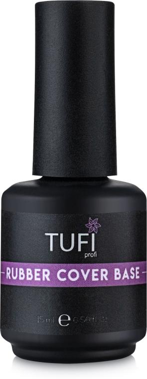 Базовое покрытие для гель-лака, каучуковое - Tufi Profi Cover Rubber Base