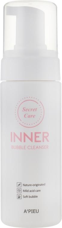 Пенка для интимной гигиены - A'pieu Secret Care Inner Bubble Cleanser