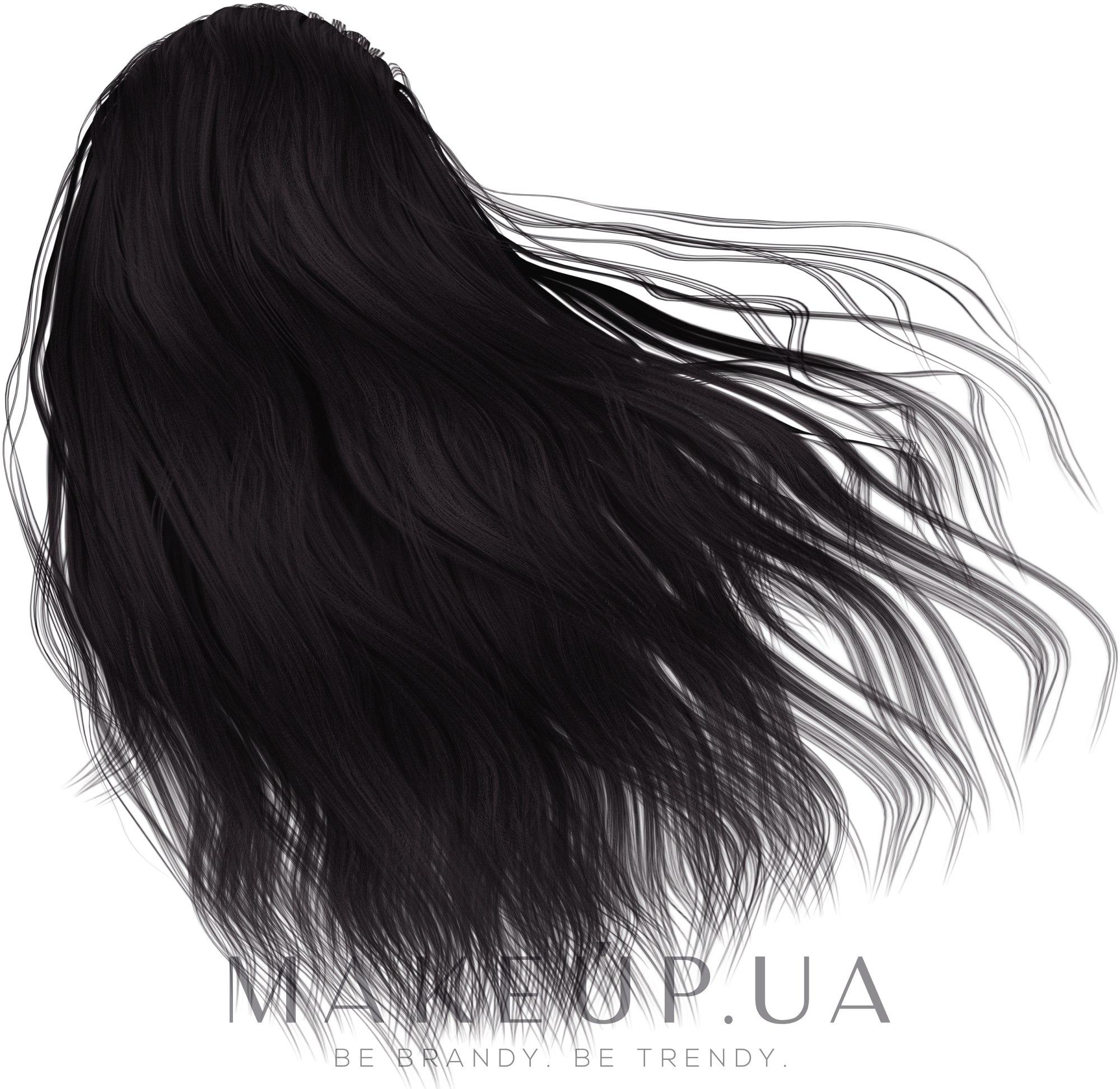 Стойкая крем-краска для волос - Matrix Socolor Beauty — фото 1A - Пепельный иссиня-черный