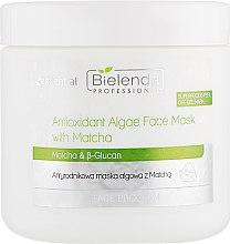 Парфумерія, косметика Антиоксидантна маска з водоростями - Bielenda Professional Face Program Antioxidant Algae Face Mask With Matcha