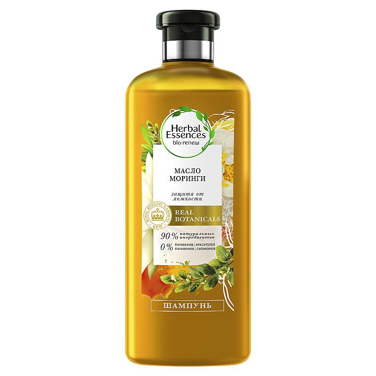 Шампунь для выравнивания волос - Herbal Essences Golden Moringa Oil Shampoo
