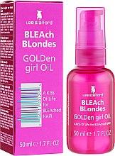 Духи, Парфюмерия, косметика Питательное масло для осветленных волос - Lee Stafford Bleach Blondes Golden Girl Oil