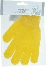 Духи, Парфюмерия, косметика Мочалка-перчатка банная, желтая - Beauty Line