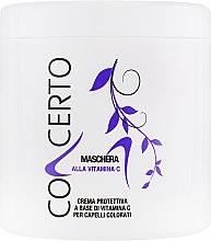 Духи, Парфюмерия, косметика Маска для окрашенных волос с витамином С - Punti Di Vista Concerto Alla Vitamina C Hair Mask