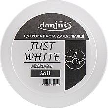 """Духи, Парфюмерия, косметика Парфюмированная сахарная паста для депиляции """"Белая"""", мягкая - Danins Just White Sugar Paste Soft"""