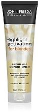 Духи, Парфюмерия, косметика Увлажняющий кондиционер для светлых волос - John Frieda Sheer Blonde Highlight Activating Moisturising Coditioner