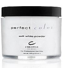 Духи, Парфюмерия, косметика РАСПРОДАЖА Акриловая пудра белая - CND Perfect Color Sculpting Powder Soft White Opaque *