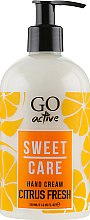 Духи, Парфюмерия, косметика Крем для рук - GO Active Sweet Care Citrus Fresh Hand Cream