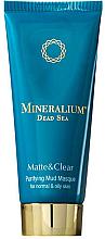 Духи, Парфюмерия, косметика Очищающая грязевая маска для нормальной и жирной кожи - Mineralium Purifying Mud Masqu