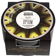 Духи, Парфюмерия, косметика Ароматическая свеча - House of Glam Black Opium Candle (мини)