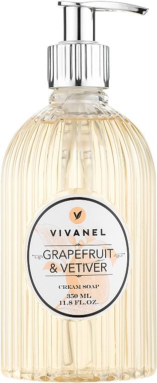 """Vivian Gray Vivanel Grapefruit&Vetiver - Жидкое крем-мыло """"Грейпфрут и ветивер"""""""