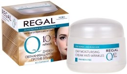 Духи, Парфюмерия, косметика Дневной увлажняющий крем против морщин для нормальной и комбинированной кожи - Regal Q10+Refresh Day Moistursing Cream Anti-Wrinkles