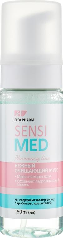 Нежный очищающий мусс - Elfa Pharm Sensi Med Mousse