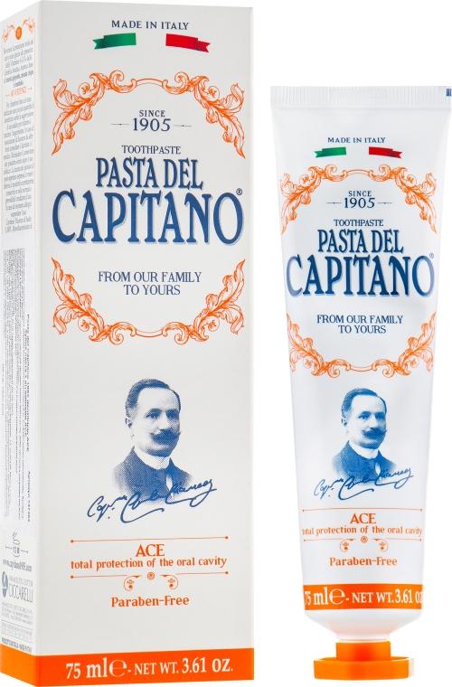 Зубная паста с витаминами ACE - Pasta Del Capitano 1905 Ace Toothpaste Complete Protection