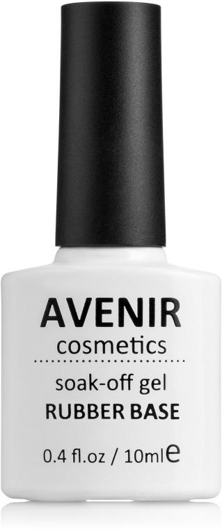 Каучуковое базовое покрытие - Avenir Cosmetics Soak-off Rubber Base