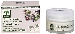 Духи, Парфюмерия, косметика Дневной увлажняющий крем с диктамелией и ромашкой - BIOselect Hydroprotective Day Cream For Dry And Sensitive Skin