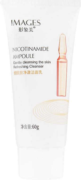 Пенка для умывания - Images Nicotinamide Ampoule Cleanser