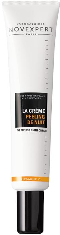 Ночной крем-пилинг для лица - Novexpert Vitamin C The Peeling Night Cream