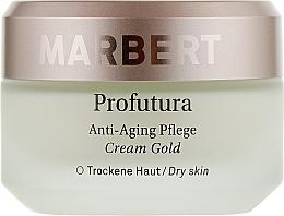 Духи, Парфюмерия, косметика Антивозрастной крем для лица - Marbert Profutura Anti-Aging Skin Care Cream Gold