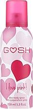 Духи, Парфюмерия, косметика Дезодорант-спрей - Gosh I Love Pink Deo Body Spray