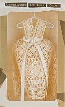 Духи, Парфюмерия, косметика Саше для ароматизации одежды и белья в виде ажурного бежевого платья - MSPerfum
