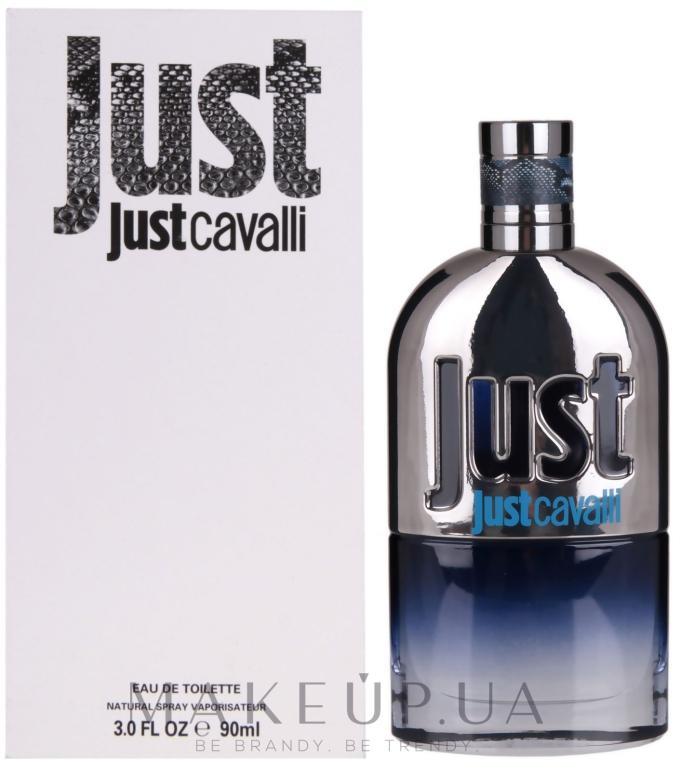 Roberto Cavalli Just Cavalli Man - Туалетна вода (тестер з кришечкою) — фото N4