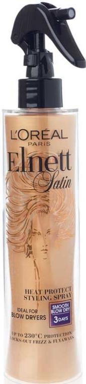 Термозащитный спрей для волос - L'Oreal Paris Elnett Satin Smooth Spray Protector