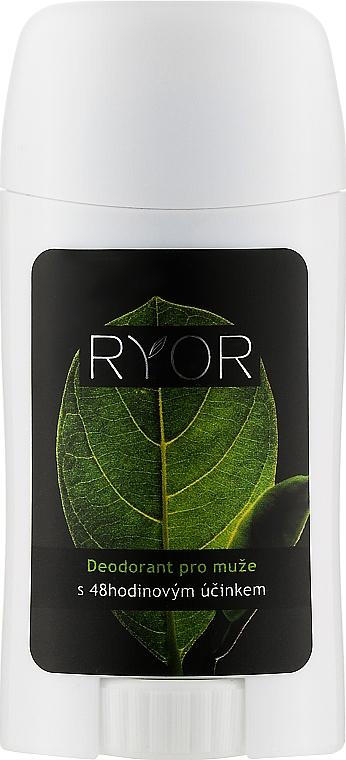 Дезодорант для мужчин с 48-часовым эффектом - Ryor Deodorant