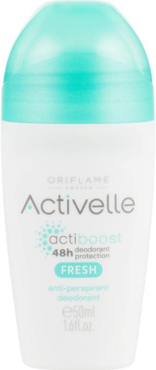 Шариковый дезодорант-антиперспирант 48-часового действия - Oriflame Activelle Actiboost Fresh