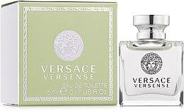Парфумерія, косметика Versace Versense - Туалетна вода (міні)