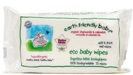 Духи, Парфюмерия, косметика Салфетки детские очищающие Еко - Earth Friendly Baby Eco Baby Wipes