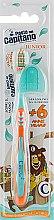 Духи, Парфюмерия, косметика Детская зубная щетка 6+, мягкая, оранжевая - Pasta del Capitano