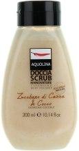 """Духи, Парфюмерия, косметика Отшелушивающий гель для душа """"Сахарный тростник и кокосовый орех"""" - Aquolina Shower Gels Scrubs Classic Sugar Cane And Coconut"""