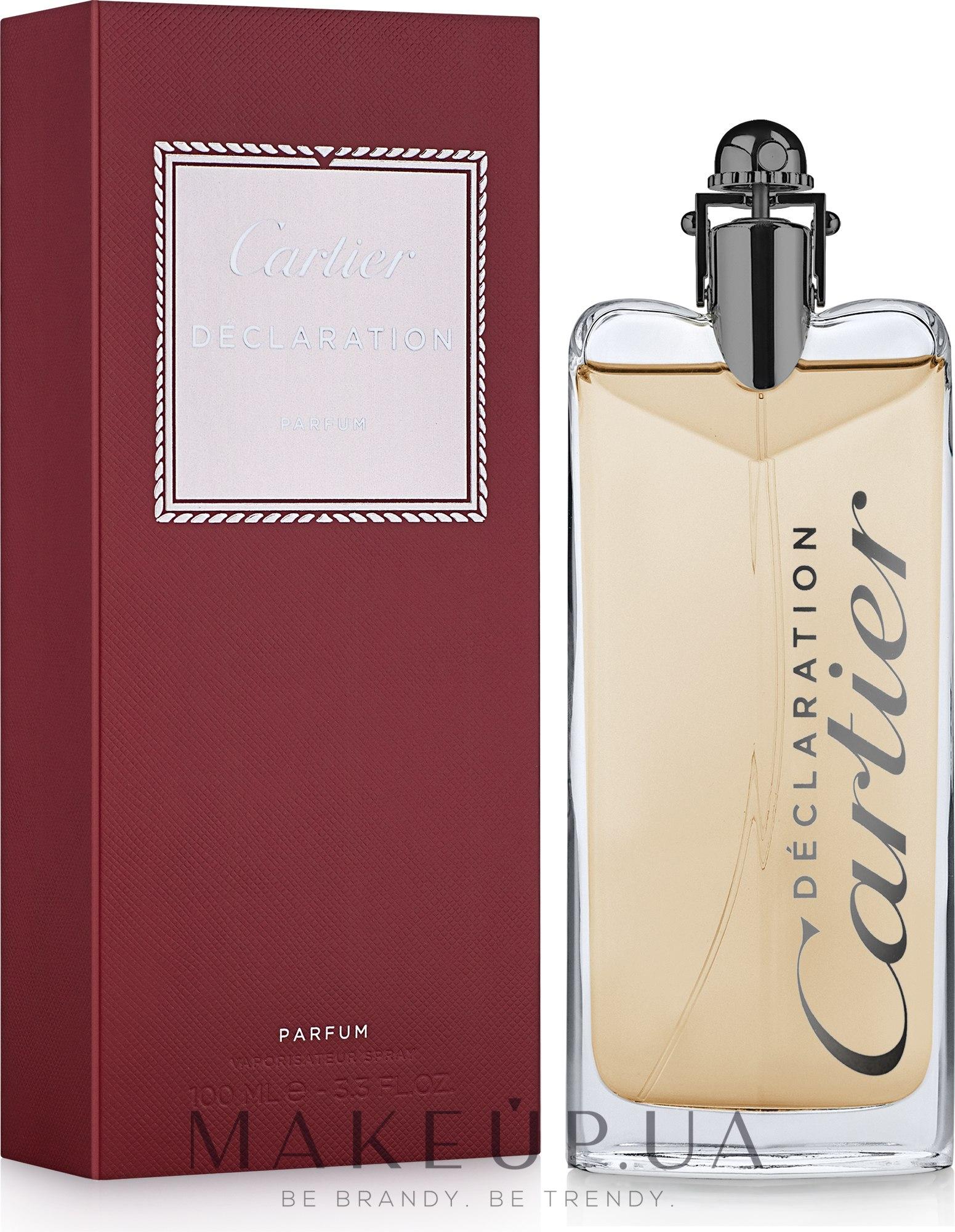 Makeup отзывы о Cartier Declaration Parfum духи