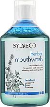 Духи, Парфюмерия, косметика Ополаскиватель для полости рта - Sylveco Herbal Mouthwash