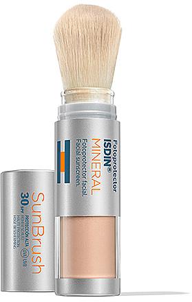 УЦЕНКА Пудра солнцезащитная SPF 30 - Isdin Fotoprotector Sun Brush Mineral SPF30 * — фото N1